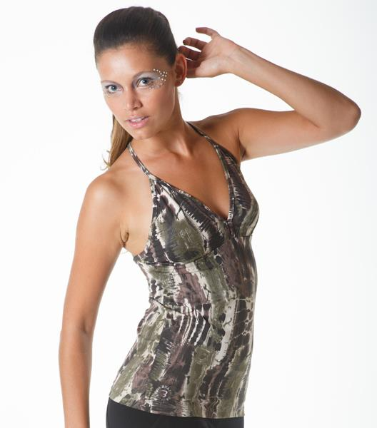 Final Sale! Bia Brazil Activewear Printed Tank Top TT4253