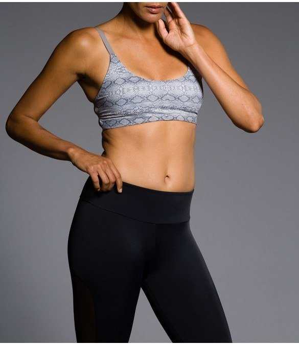 Final Sale! Onzie Hot Yoga Elastic Cage Bra Top 316