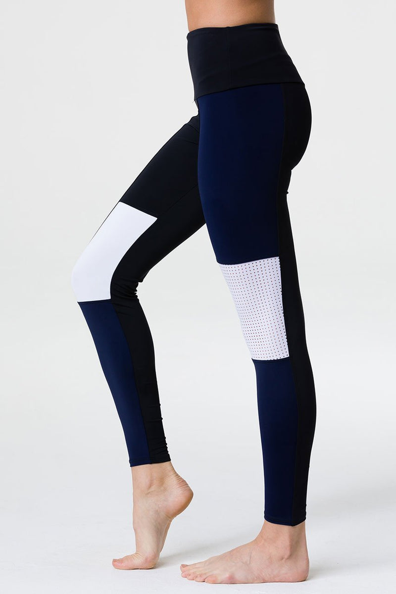 Onzie Peace 7/8 Yoga Leggings 2201 Black/Thunder
