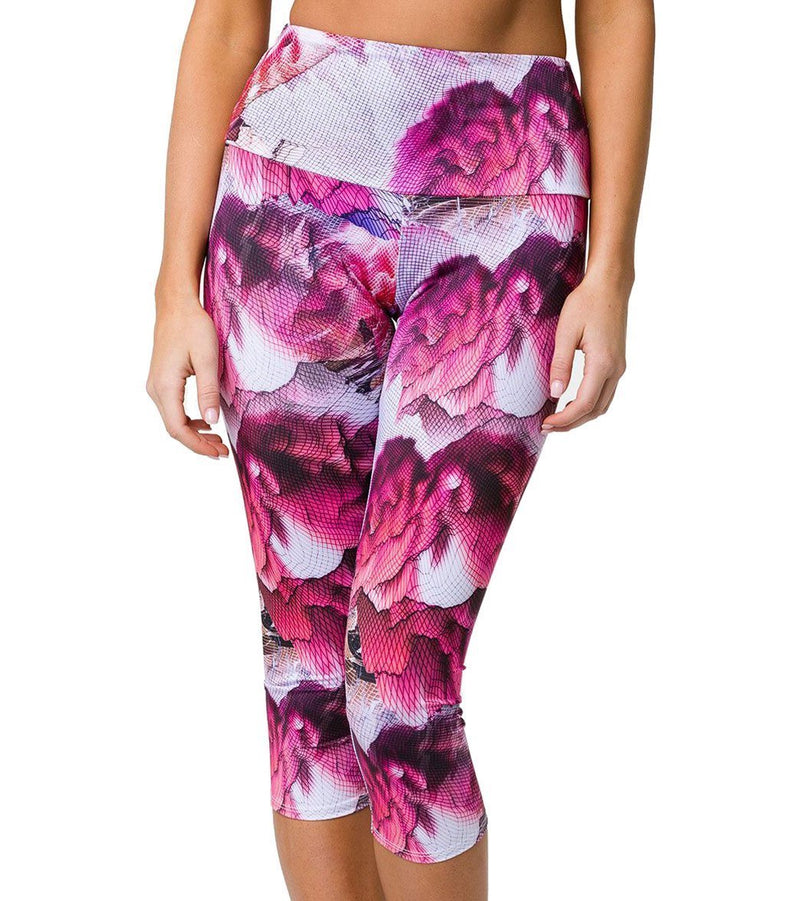 Onzie High Waisted Yoga Capris 2206