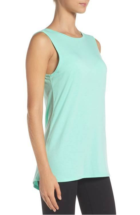 Final Sale! Onzie Flow Fly Away Tank 3067 Jade