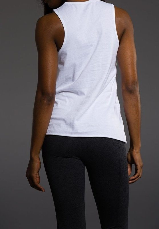 Holiday Deal! Onzie Gypsy Tank 3068 LA Made White