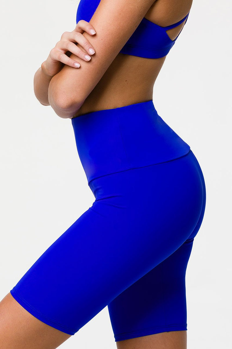 Final Sale! Onzie High Rise Bike Shorts 2225 Royal