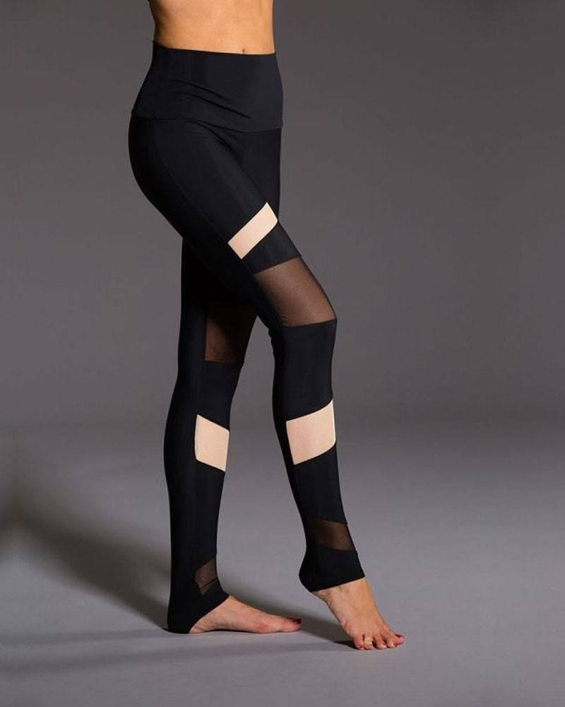 Final Sale! Onzie Hot Yoga High Rise Bondage Legging 280