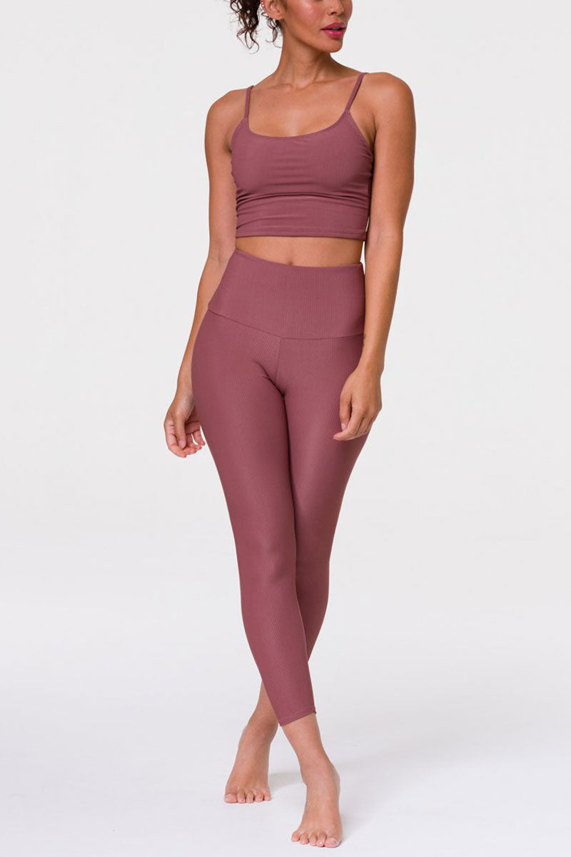 Onzie Hot Yoga High Rise Ribbed Midi 2250