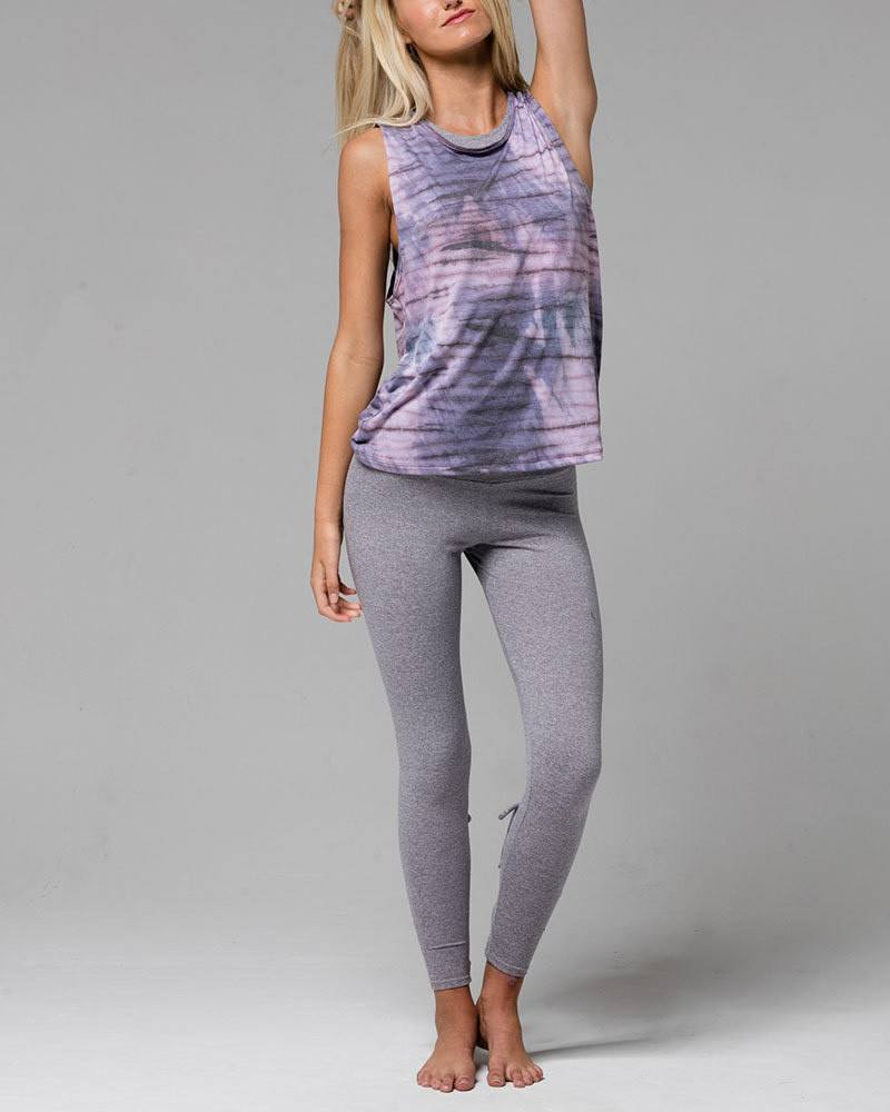 Final Sale Onzie Hot Yoga Twist Back Top 3602