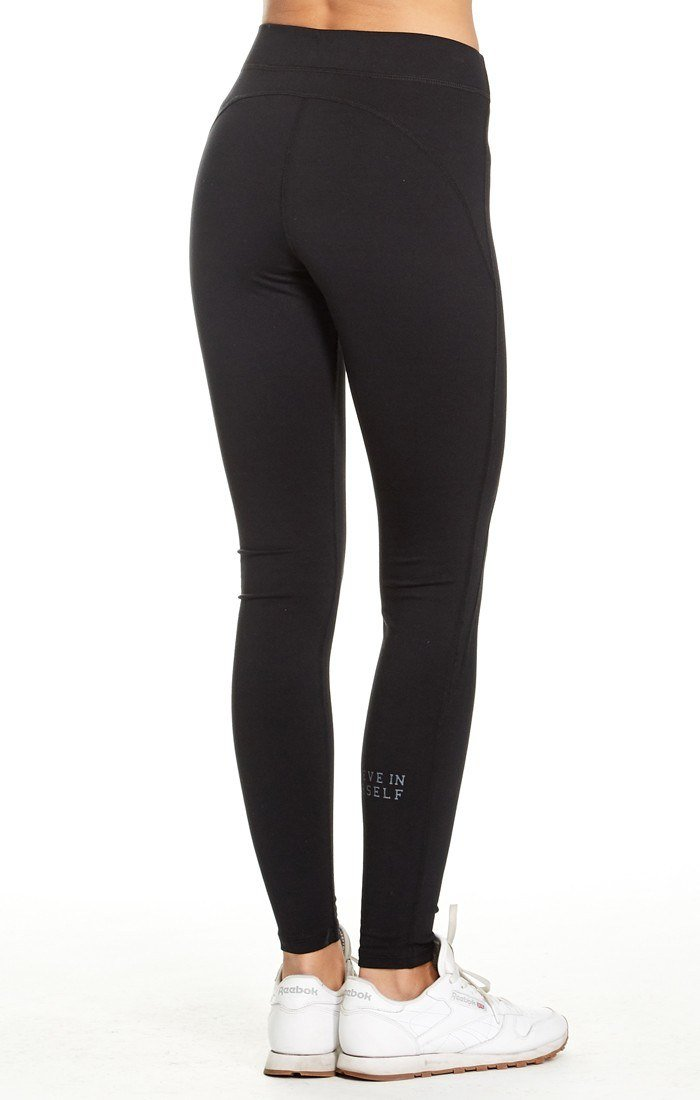 good hYOUman Luna Athletic Legging 111234P Black Sand