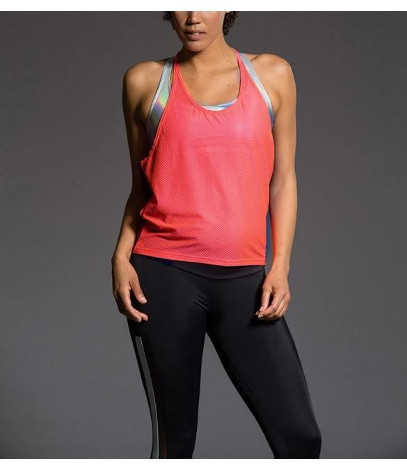 Last Chance! Onzie Hot Yoga T- Back Mesh Tank 3680