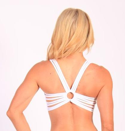 Equilibrium Activewear Spider Back Bra Top T415