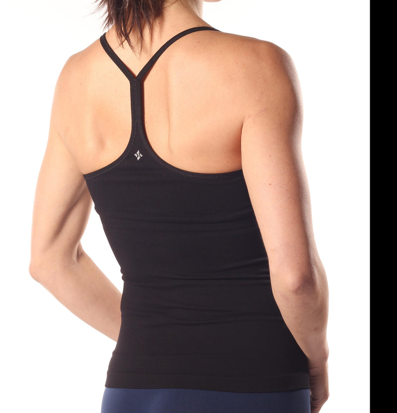 Final Sale NUX USA Ribbed T-Back Cami C269