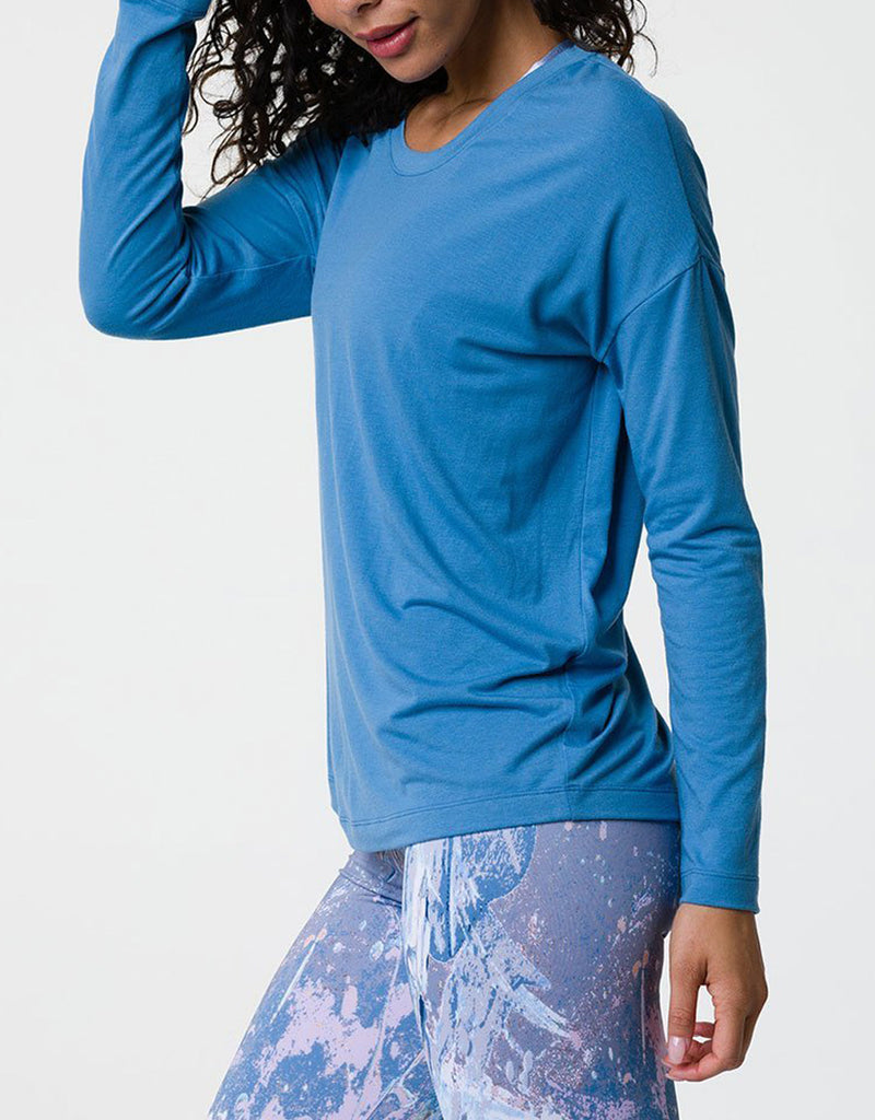 Super Deal! Onzie Hot Yoga Braid Back Top 3076 Pewter