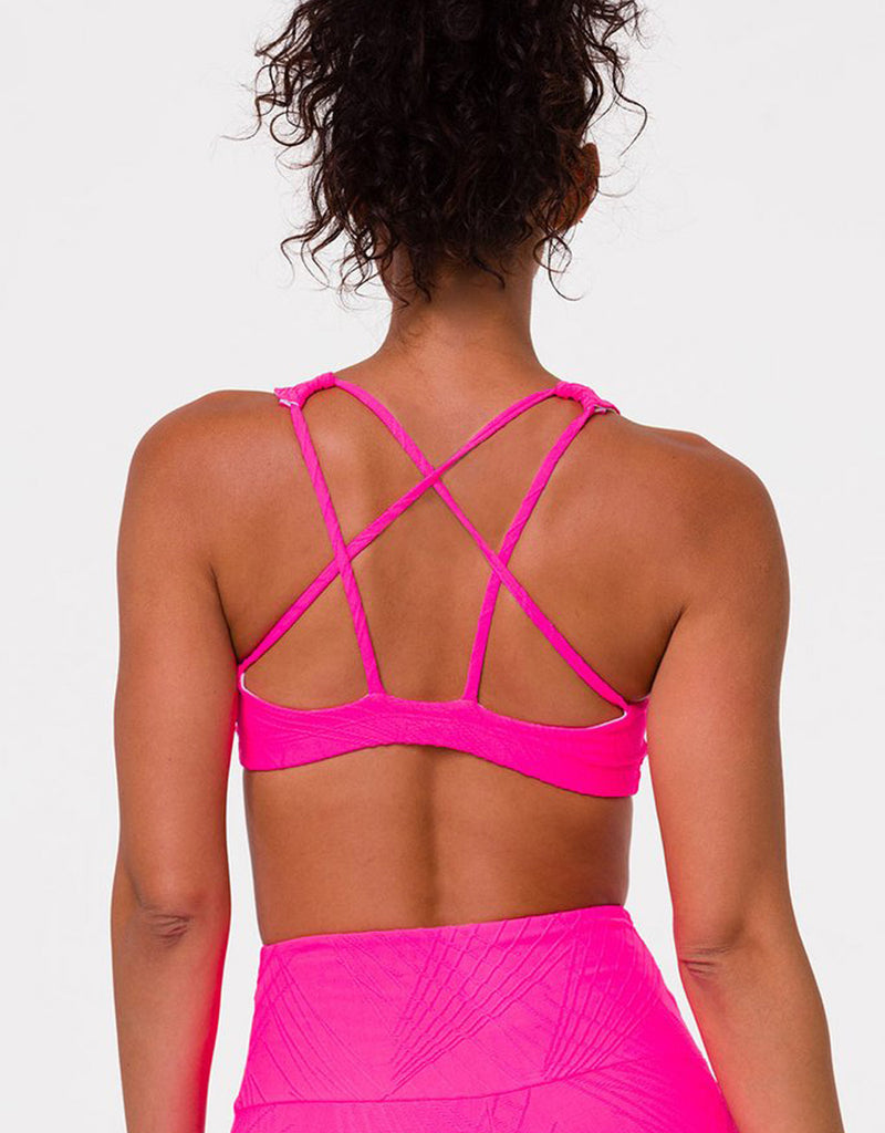 Onzie Hot Yoga Mudra Bra 3098 Selenite
