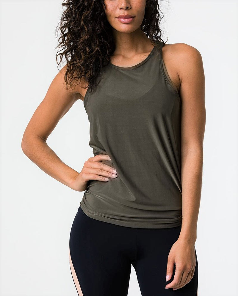 Onzie Hot Yoga 3109 Tie Back Tank