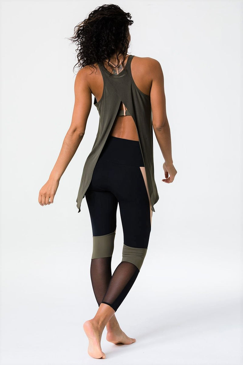 Final Sale! Onzie Hot Yoga 3109 Tie Back Tank