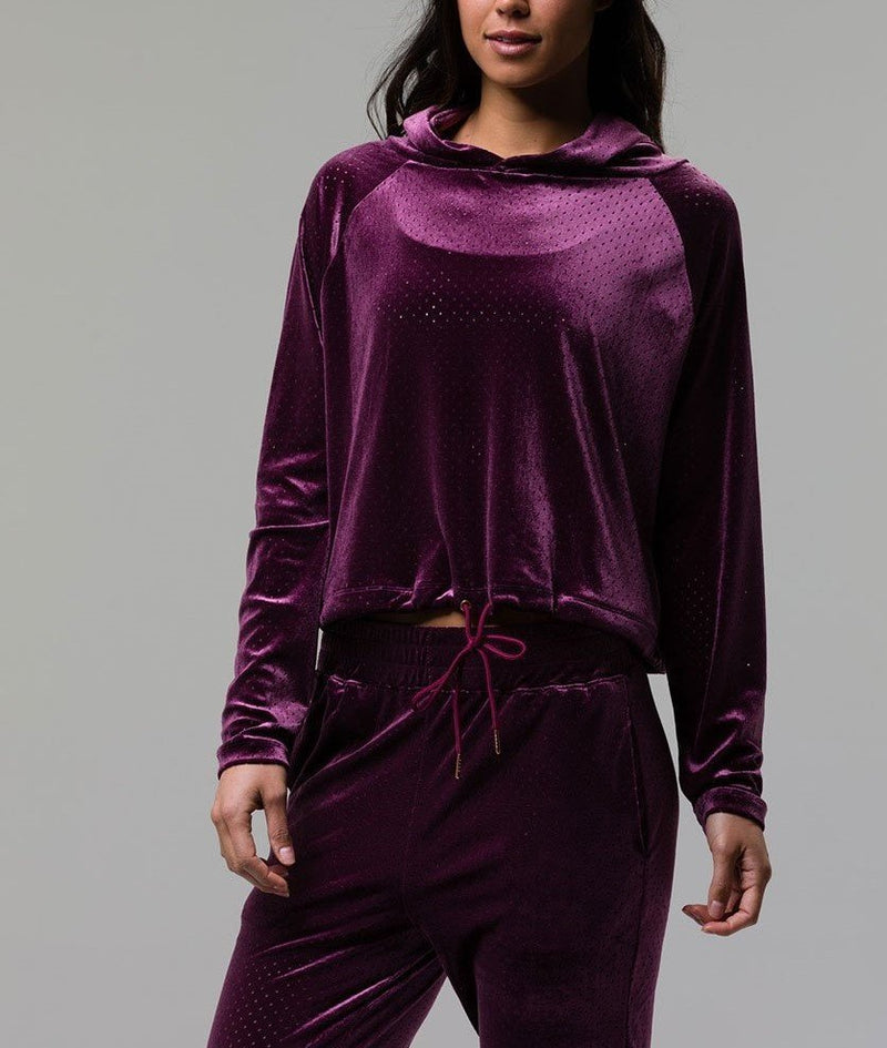 Onzie Velour Top 3113