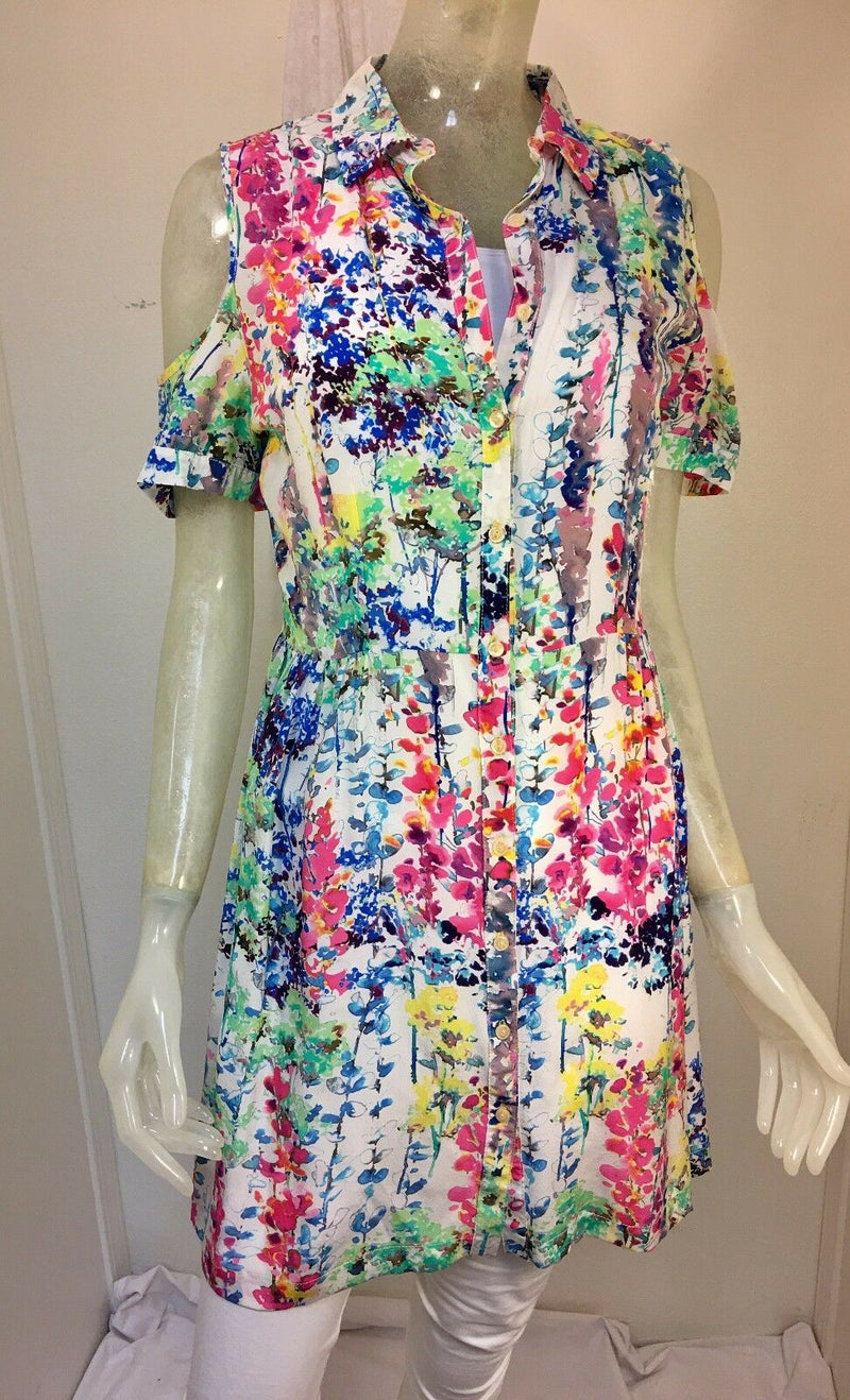 Johnny Was Spring Bouquet Dress