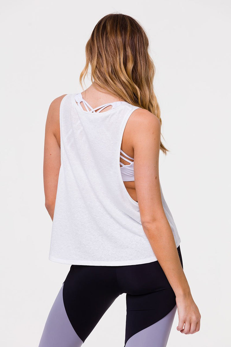 Onzie Flow Yoga Vintage Tank Top 3780