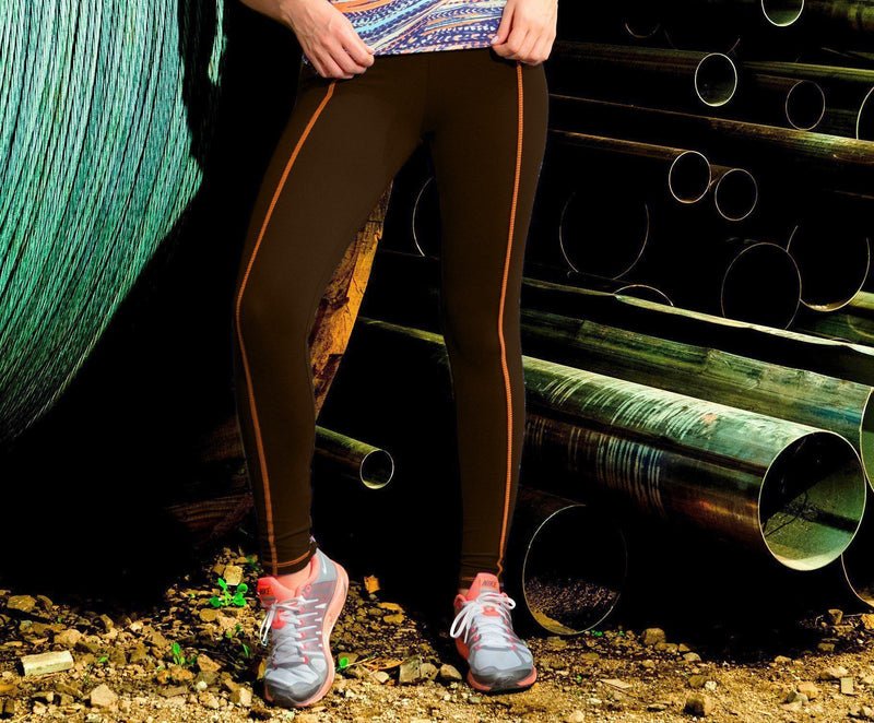 Final Sale! Bia Brazil Activewear Zip Ankle Stand Out Legging LE2833