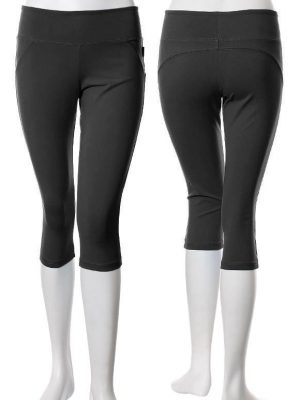Final Sale KOS*USA Saddle Back Capri 3717