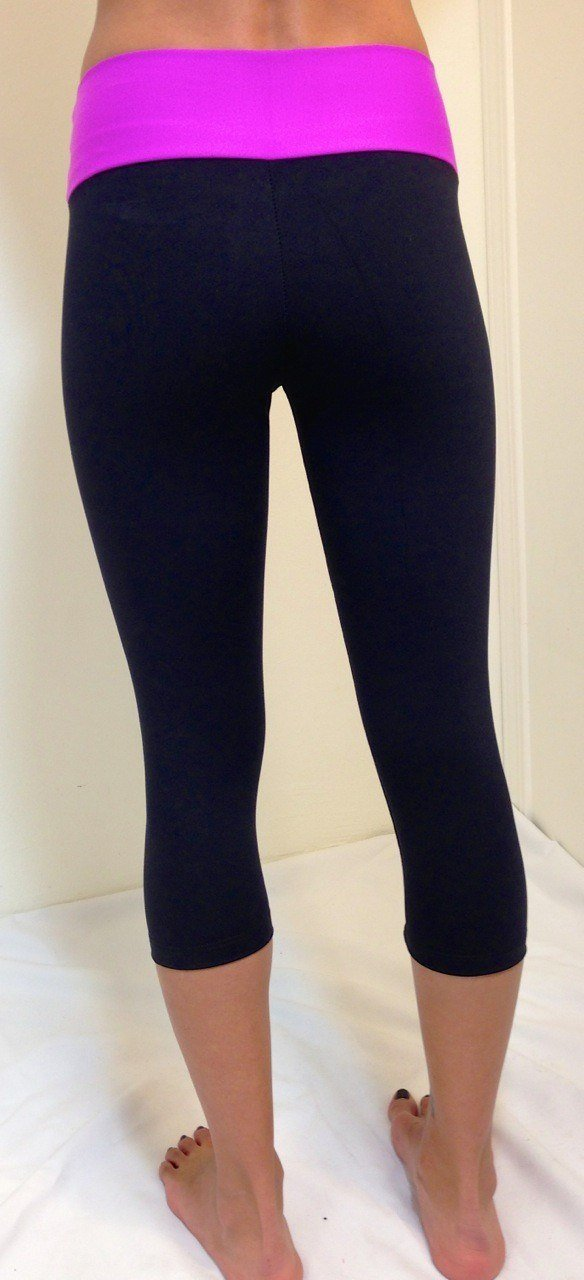 FInal Sale Bia Brazil Activewear Railroad Capri SL2872