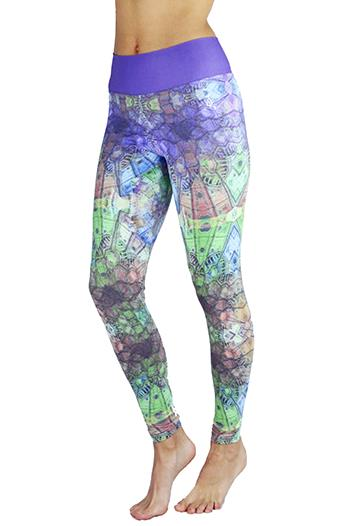 Balance Fitwear Stained Glass Legging 3039