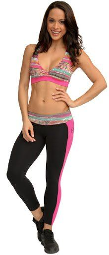 Final Sale Equilibrium Clothing Fun Fiesta Leggings L736