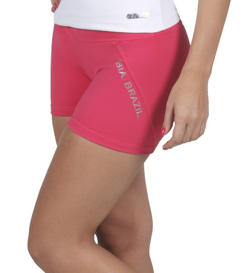 Final Sale! Bia Brazil Diagonal Logo Booty Shorts SH2432