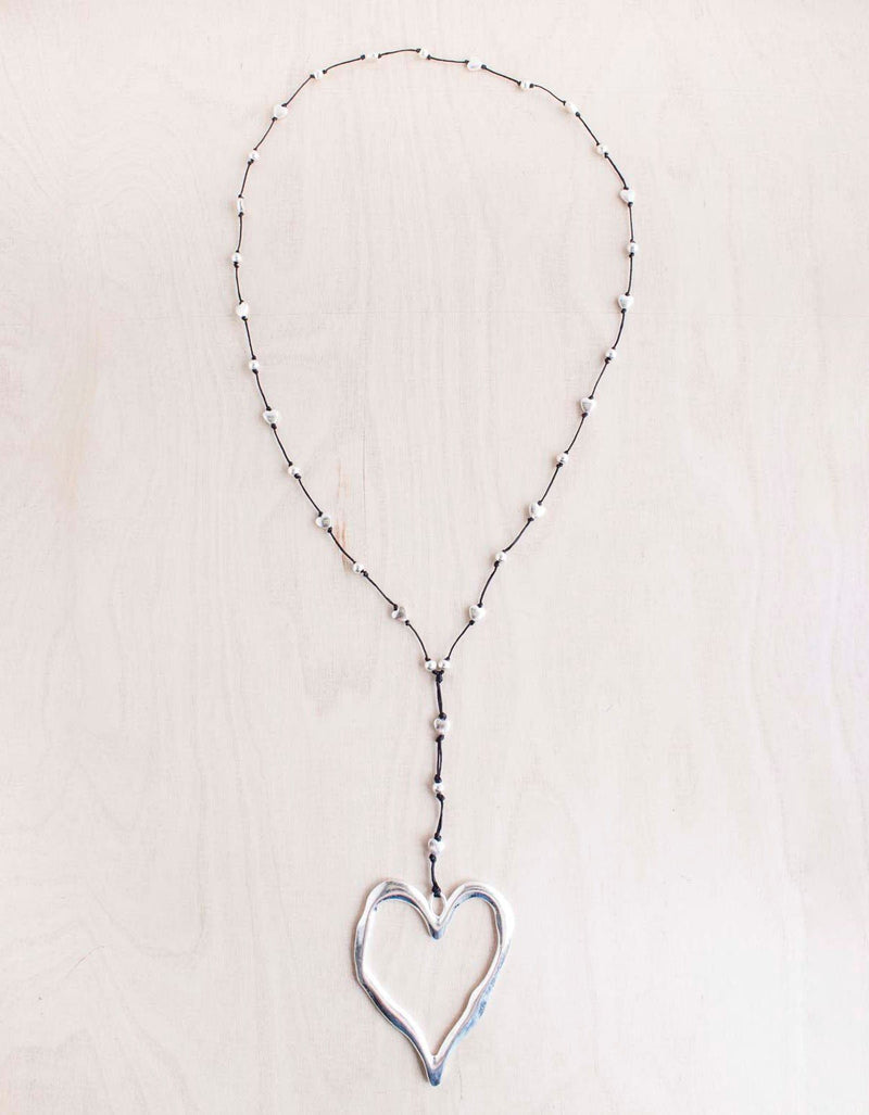 Bali Queen Open Heart Necklace
