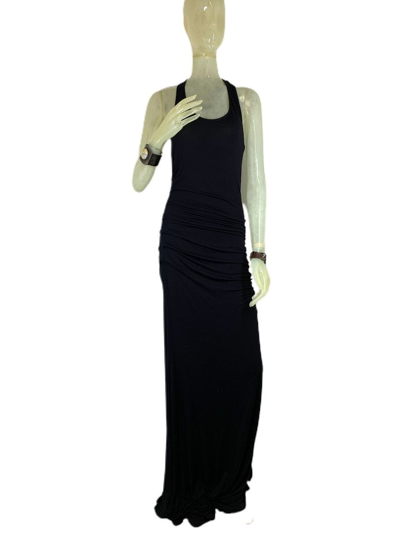E-Motions Ruched Side Maxi Dress Black