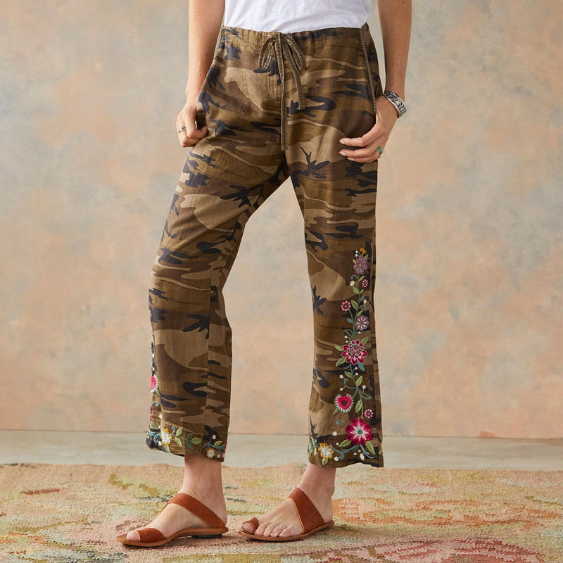 Johnny Was Hulda Linen Pants