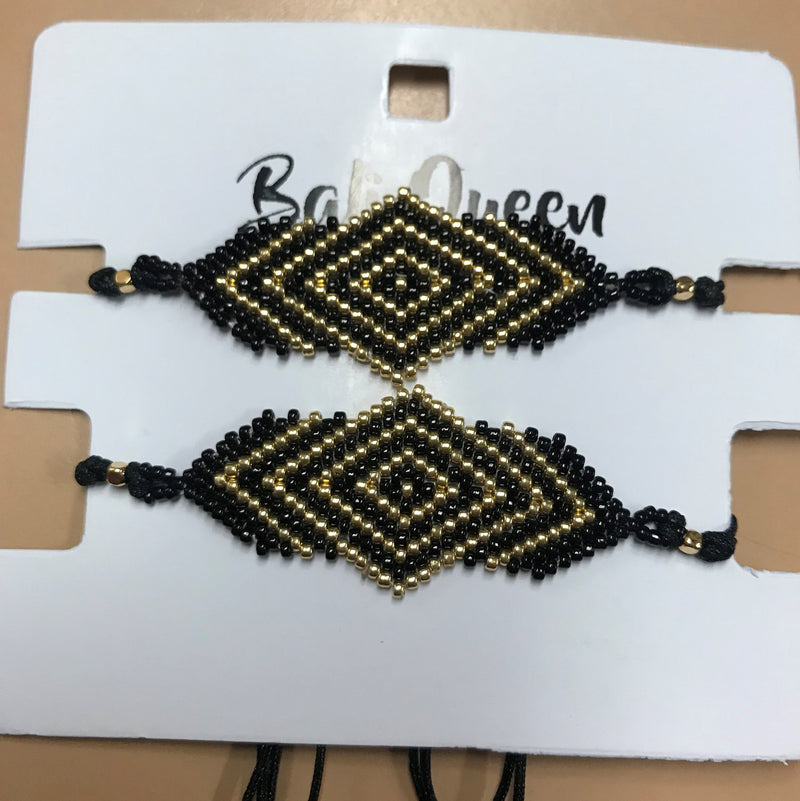 Bali Queen Seed Bead Friendship Bracelet