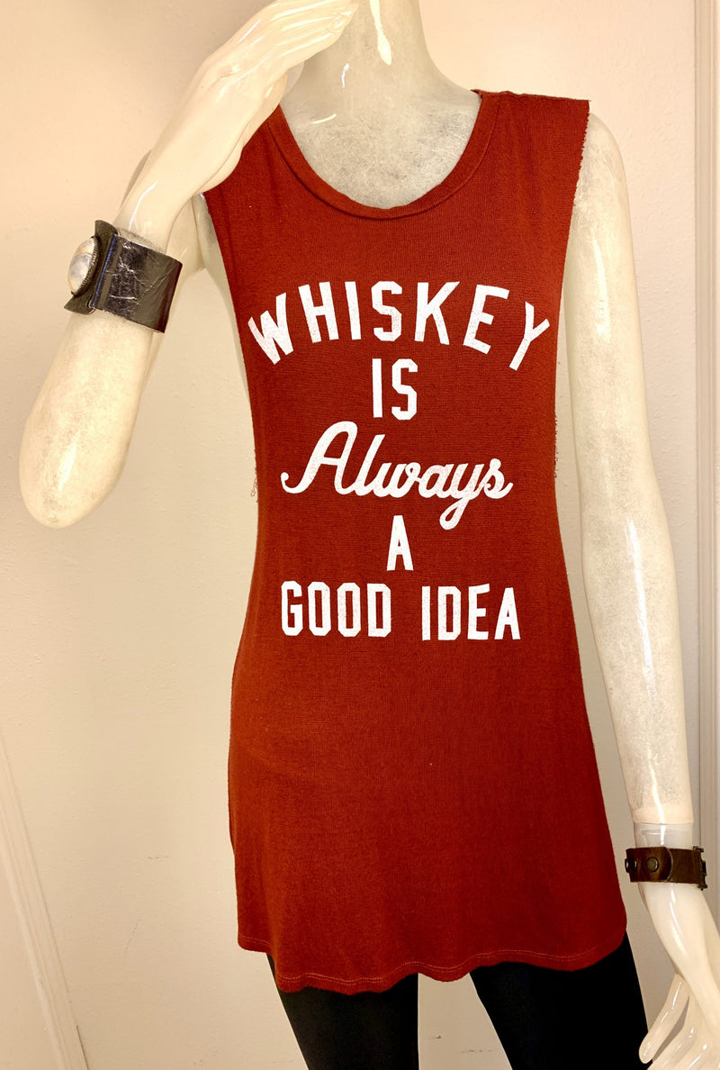 TMD Whiskey is Always a Good Idea Tank Rust