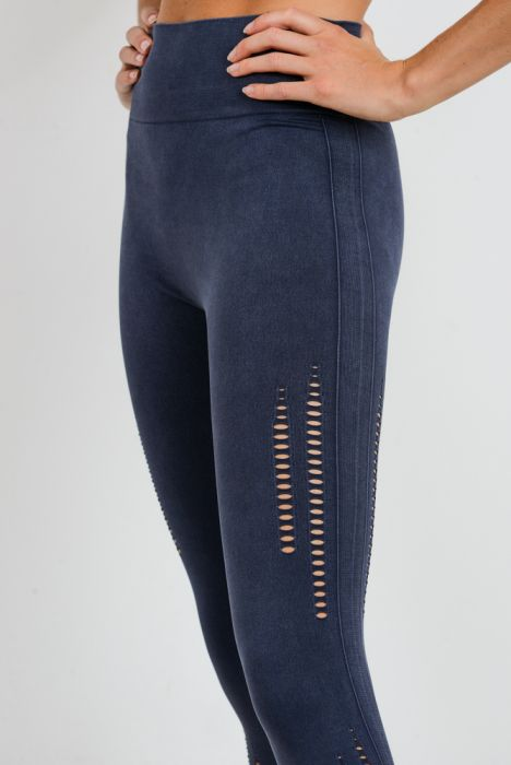 Mono B Seamless Perforated Leggings APH2563