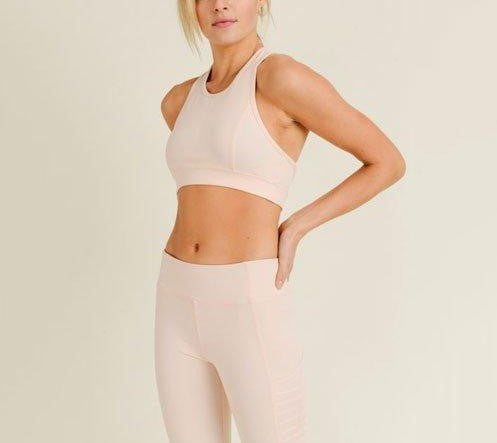 Mono B Laser Cut Sports Bra AT2249