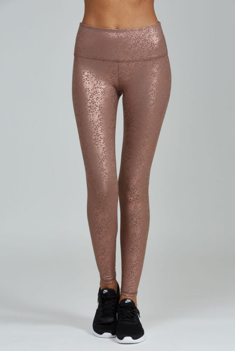 FINAL SALE Noli Yoga Gloss Legging Rose