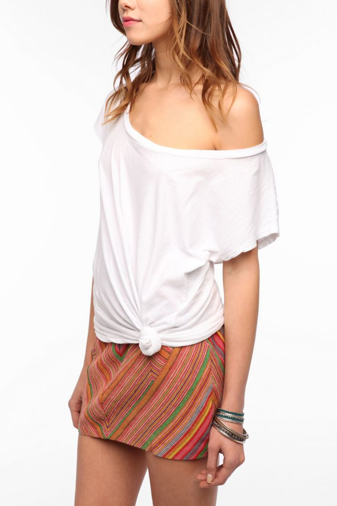 Truly Madly Deeply Off the Shoulder Tee Shirt