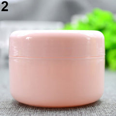 5 Pcs/Set Empty Makeup Jar Pot Travel Face Cream/Lotion/Cosmetic Containers