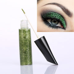 Sparkle Metallic Glitter Liquid Eyeliner Long Lasting Makeup Cosmetic Eye Liner