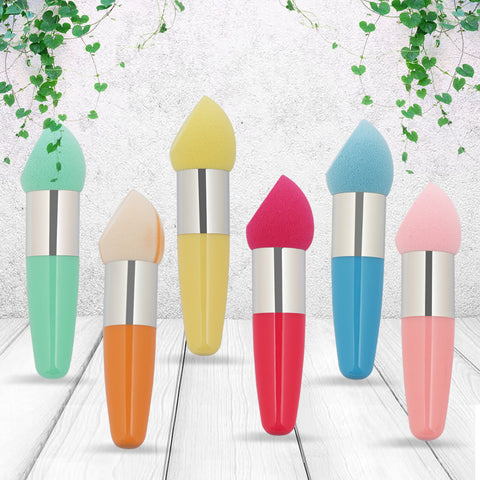 Foundation Makeup Sponge Blender Cosmetic Water Drop Shape Puff Sponge Brush
