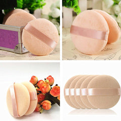 5 Pcs Face Powder Puff Soft Beauty Flawless Cosmetic Makeup Sponge Puffs Tool