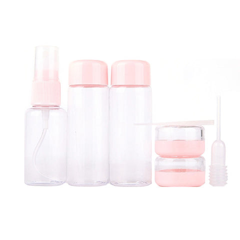 Portable Storage Lotion  Perfume Shampoo Container Makup Travel Bottle Cosmetics