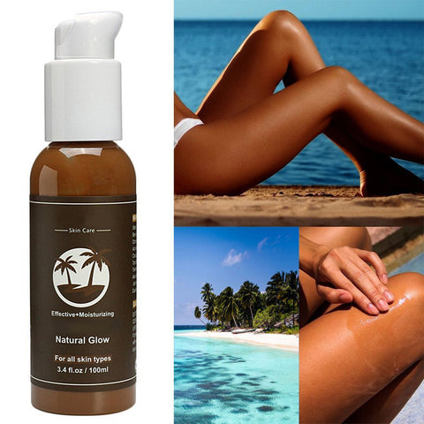 100ml Body Bronzer Enhance Solarium Sunscreen Self Tanner Moisturizing Lotion
