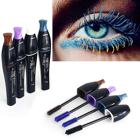 Waterproof Curling Eyelash Colorful Mascara Charming Longlasting Eyelashes Makeup