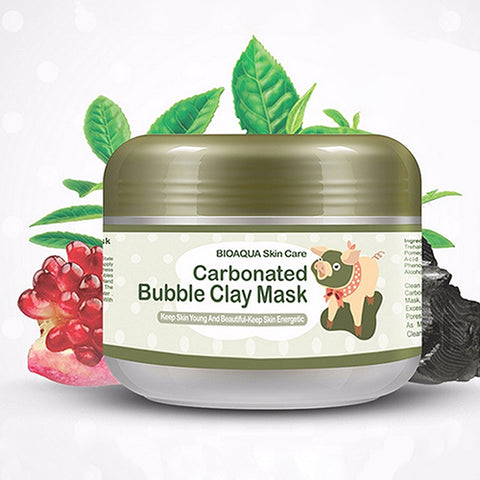 Women's Fashion Useful Beauty Cosmetic 100g Carbonated Bubble Clay Mask