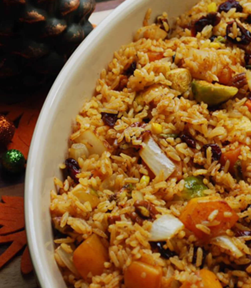 Roasted Vegetable & Rice