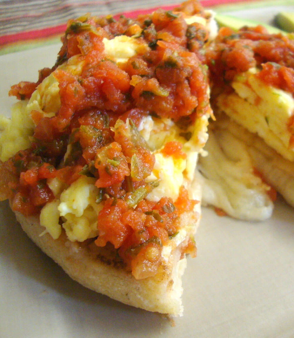 Scrambled Egg Pupusas