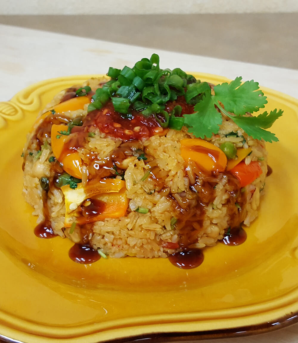 Thai Style Rice with Vegetables
