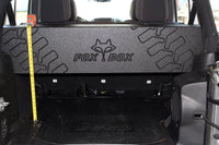 "Jeep Wrangler Unlimited JK 4 door 2-10"" vented downfire"