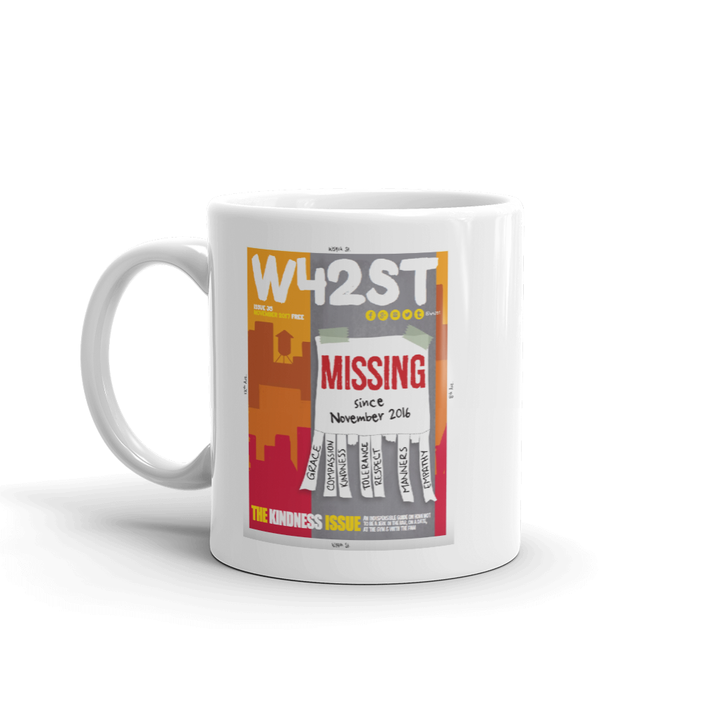 W42ST Magazine Cover Art Issue 35 Coffee Mug