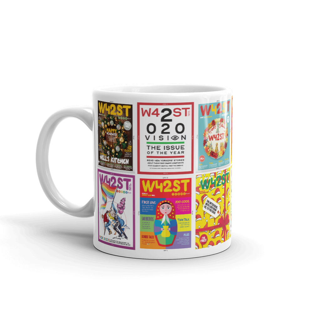 W42st Magazine Covers Limited Edition Coffee Mug